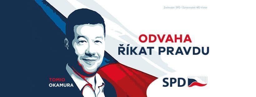 Svoboda a přímá demokracie - SPD - Tomio Okamura