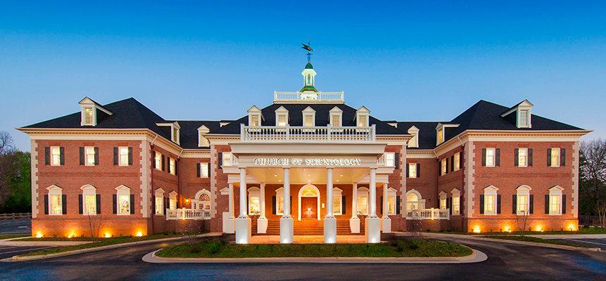 První Ideální budova scientologické organizace v Atlantě ve státe Georgia – FIRST IDEAL SCIENTOLOGY CHURCH ATLANTA GEORGIA