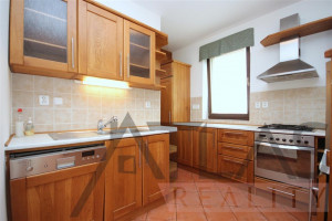 Kitchen - For Rent: Unfurnished Four-bedroom family home, Prague 6 - Nebušice, close to the ISP Nebusice