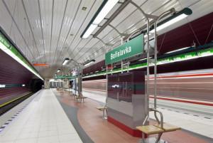 Stanice metra Bořislavka v Pražských Vokovicích