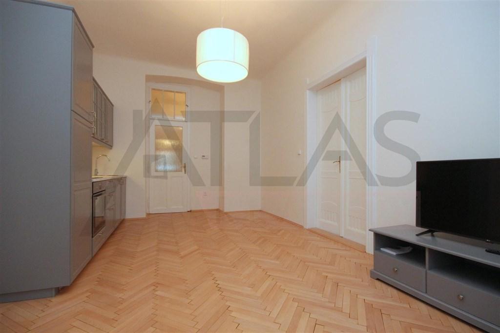 Pronájem bytu 3+kk, Praha 2 – Vinohrady, Blanická