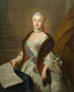 Ruská carevna Kateřina Veliká