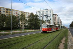 Dopravní spojení na Prahu 6 - Vokovice Červený vrch zajišťují tramvaje, metro a autobusy