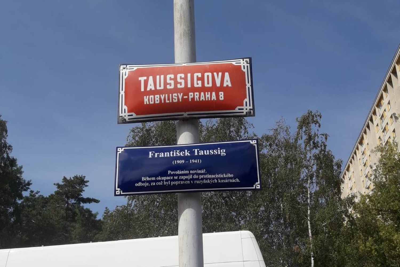 novinář František Taussig