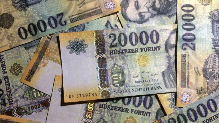 V Maďarsku za září 2017 stoupla meziročně průměrná nominální mzda o 13,6%