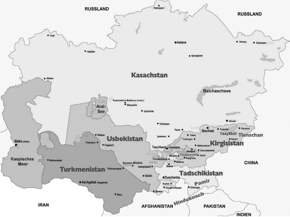 Posilování vztahů Německa se Střední Asií