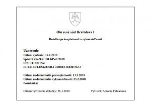 soudní zákaz provozování UBER na Slovensku